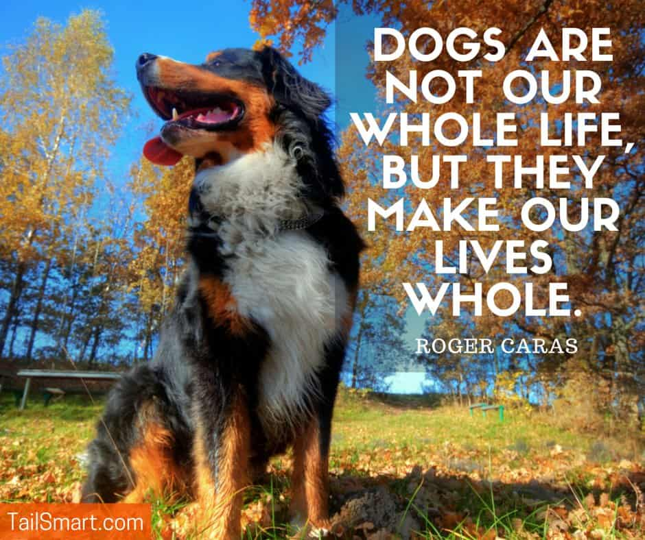 Make our lives whole - Roger Caras quote